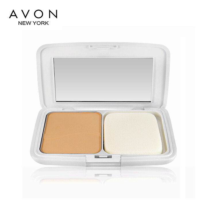 Free shipping counters authentic avon/avon's new white white powder foundation 9g upgrade equipment