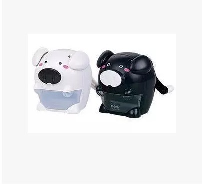 Free shipping deli pencil sharpener machine 0657 music naughty pig pencil sharpener pencil machine cute pencil sharpener authorized official authentic