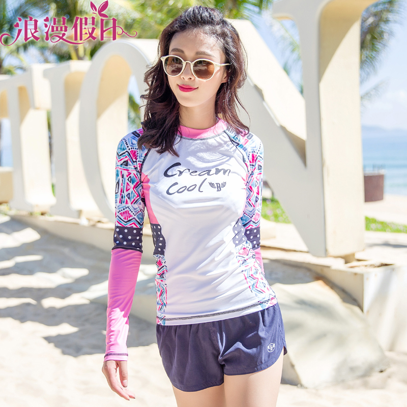 c47ca9693d Get Quotations · Free shipping hedging long sleeve sun protection waterski  seaside resort beach dress beach dress female surfing