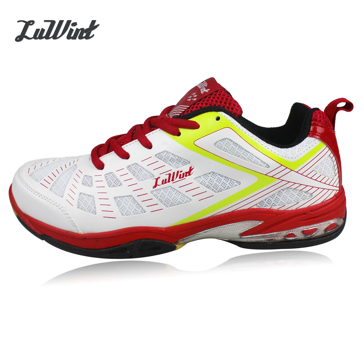 Free shipping luwint badminton shoes lightweight sports shoes slip damping summer wear and breathable running shoes training shoes