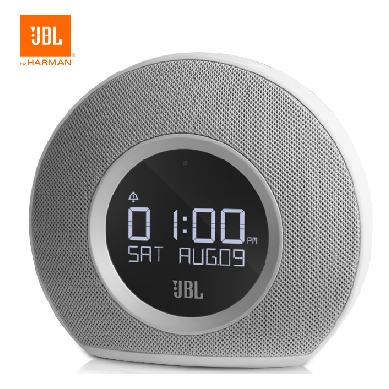 Free shipping mini bluetooth wireless stereo jbl horizon horizon music box creative alarm clock