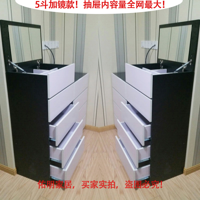 Free shipping new special tv cabinet six three four five doo doo cabinet combination ikea dresser korean sent to the mirror