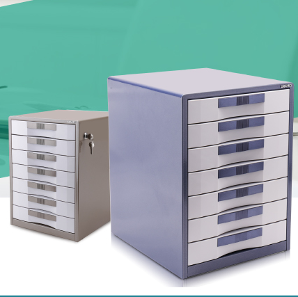 [Free shipping over 100 minus 5] effective 9703 7 layers lockable file cabinet storage cabinet finishing cabinet drawers