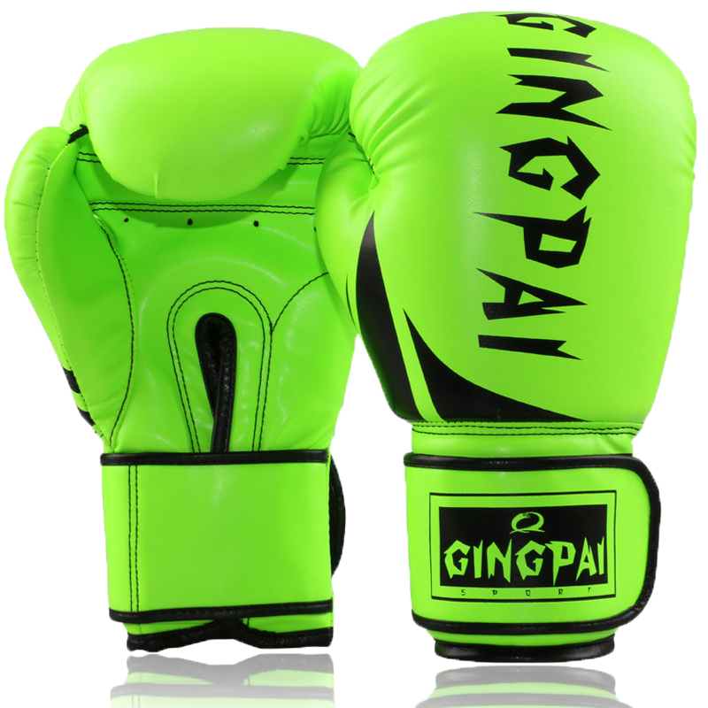 Free shipping professional muay thai boxing gloves sanda fighting glove adult children playing sandbag training gloves than match