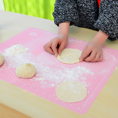 Free shipping silicone bakeware kitchen chopping board dough temperature slip mat sticky pad silicone pad pad ganmian