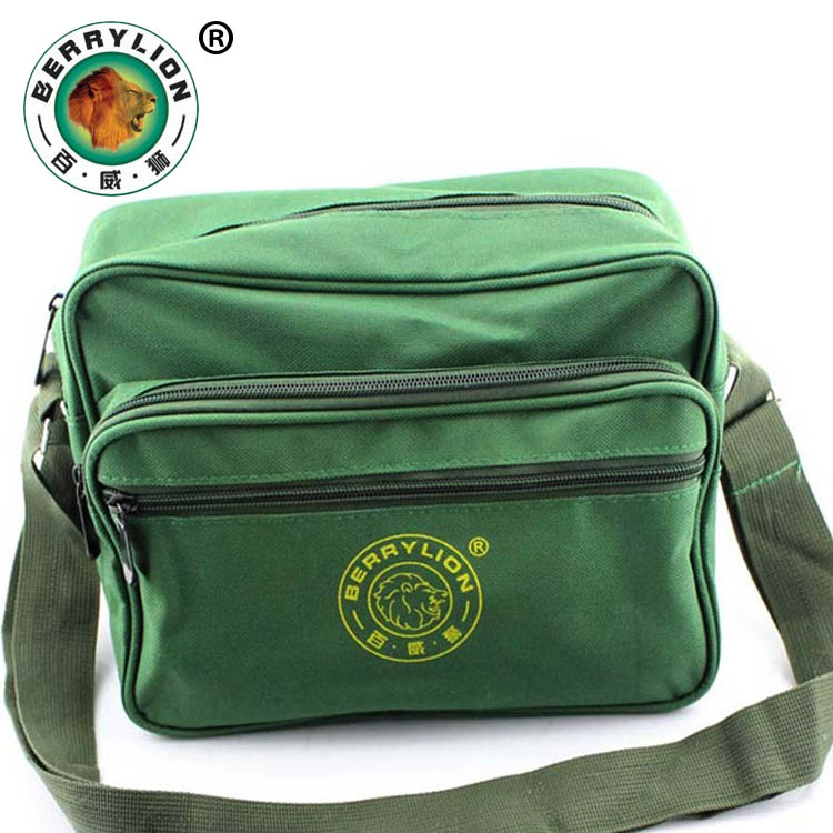 Free shipping small tool kit bag strap color army green canvas bag electrician repair kits backpack
