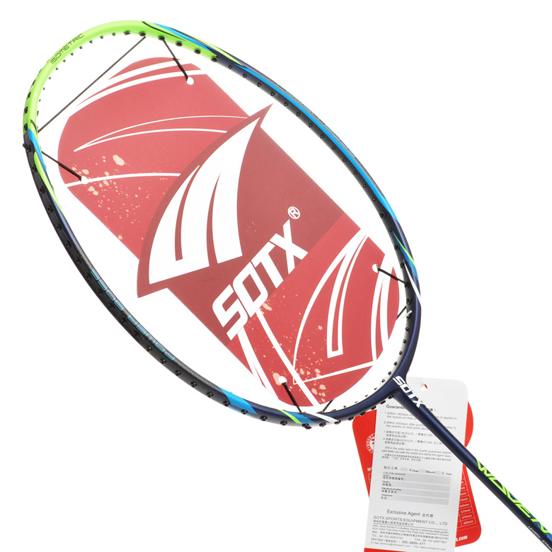 Free shipping sotx/suodeshisuo brand badminton racket woven badminton racket offensive and defensive type of muations