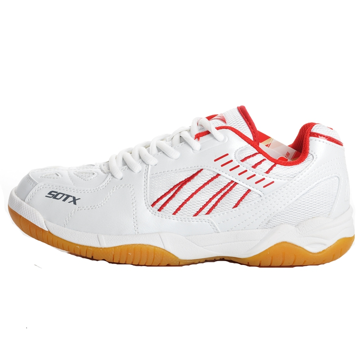 Free shipping sotx suodeshisuo brand badminton shoes badminton shoes breathable slip damping 402 sneakers men's shoes