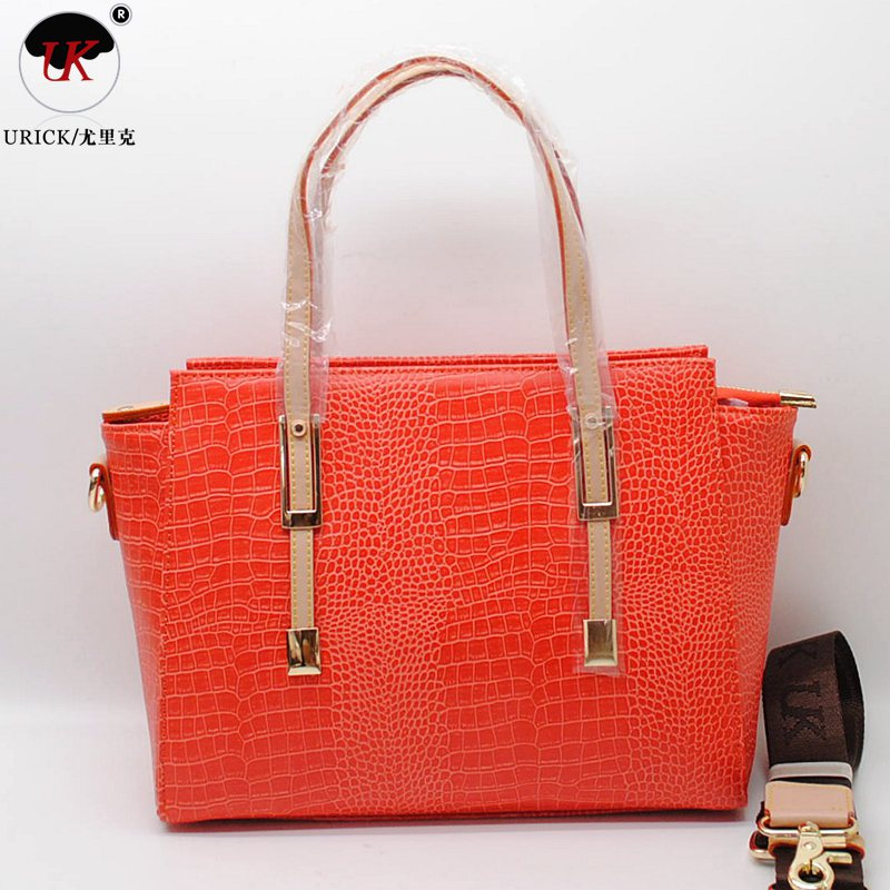 Free shipping uk brand handbag business ol with leather bag banquet bag fashion handbag messenger handbag 7190