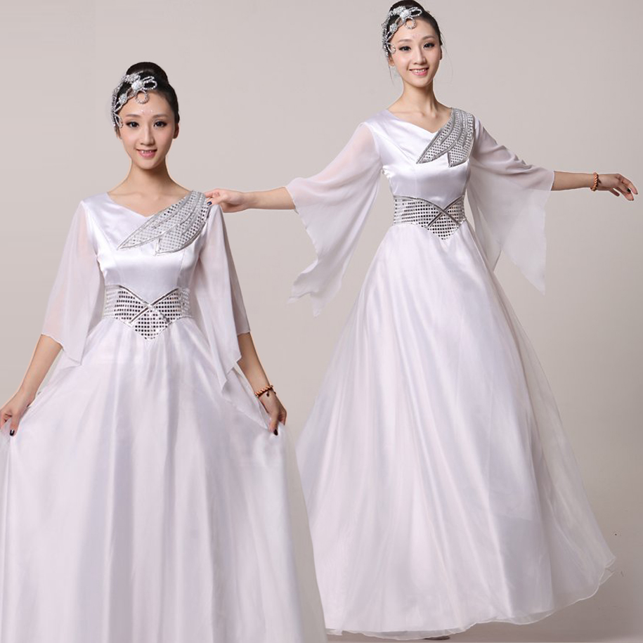 Friends xiange chorus chorus clothing clothing costumes dance costume national costume stage costumes female chorus