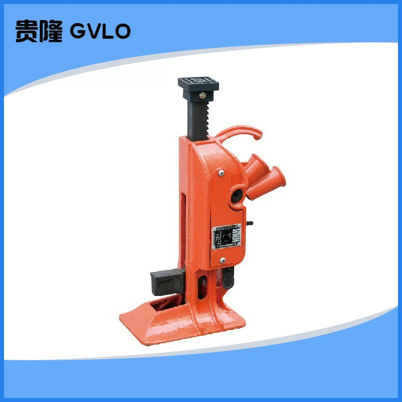 From the road machine/rack jack/from the top machine/vertical jack/claw jack 15 tons with the invoice