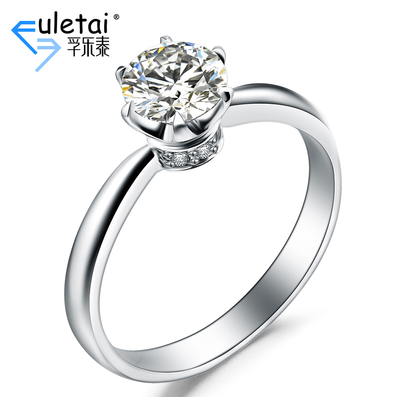 Fu loctite k white gold ring setting new new fashion elegant luxury diamond ring setting ring setting custom
