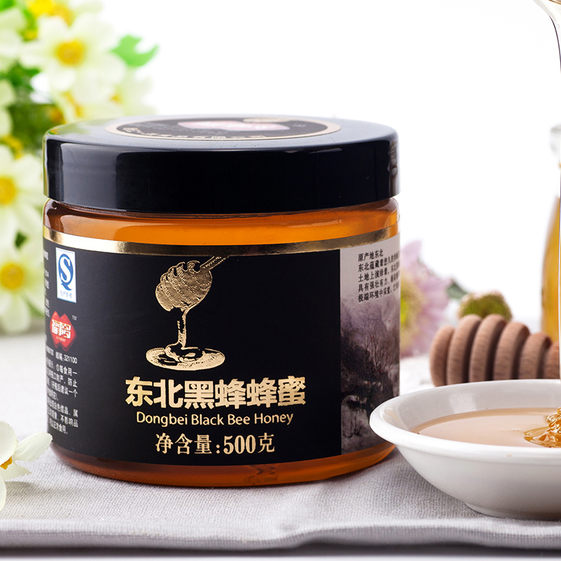 Fu something more northeast black bee linden honey 500g bee products