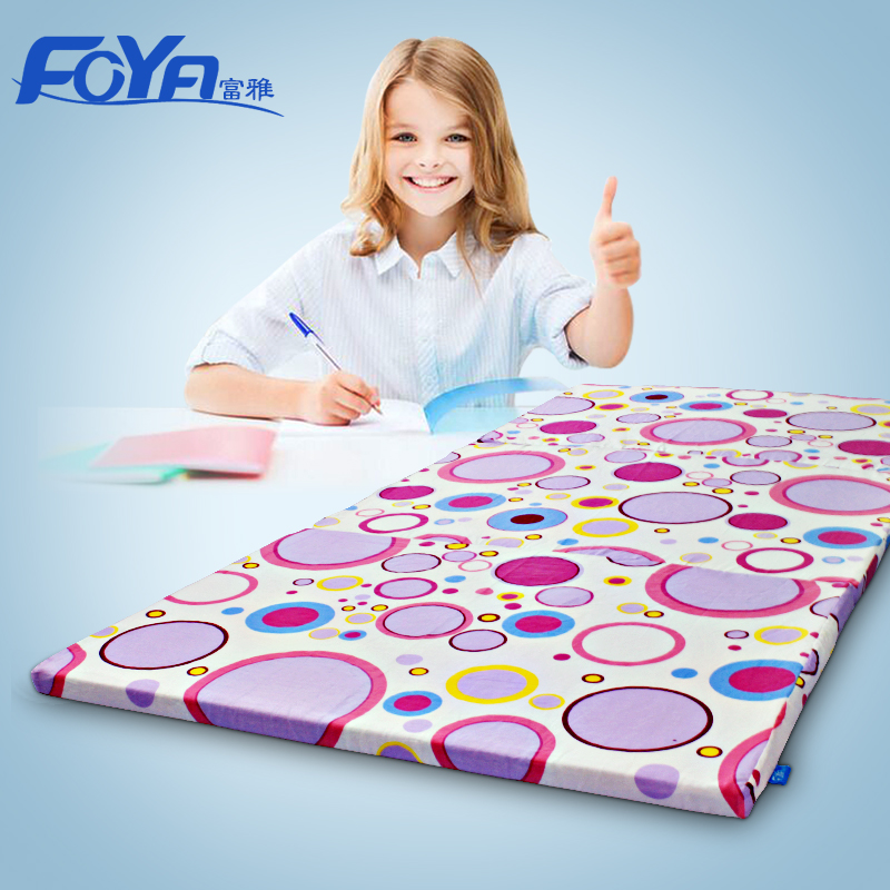 Fu ya diastolic pressure of high density foam mattress folding mattress student dormitory mattress single 90 cm