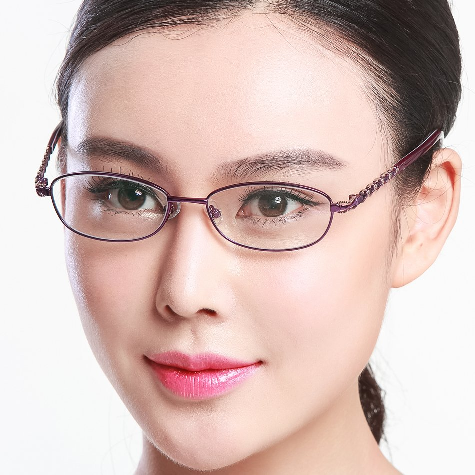Full frame reading glasses glasses can be equipped with myopia presbyopia astigmatism chromotropic glasses reading glasses reading glasses fashion ladies section