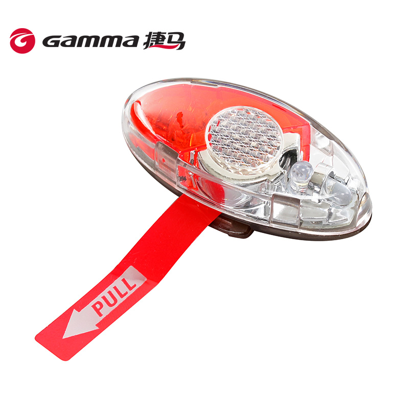 Gamma/jie ma accessories multifunction led riding bike lights mountain bike dead fly night riding safety warning light