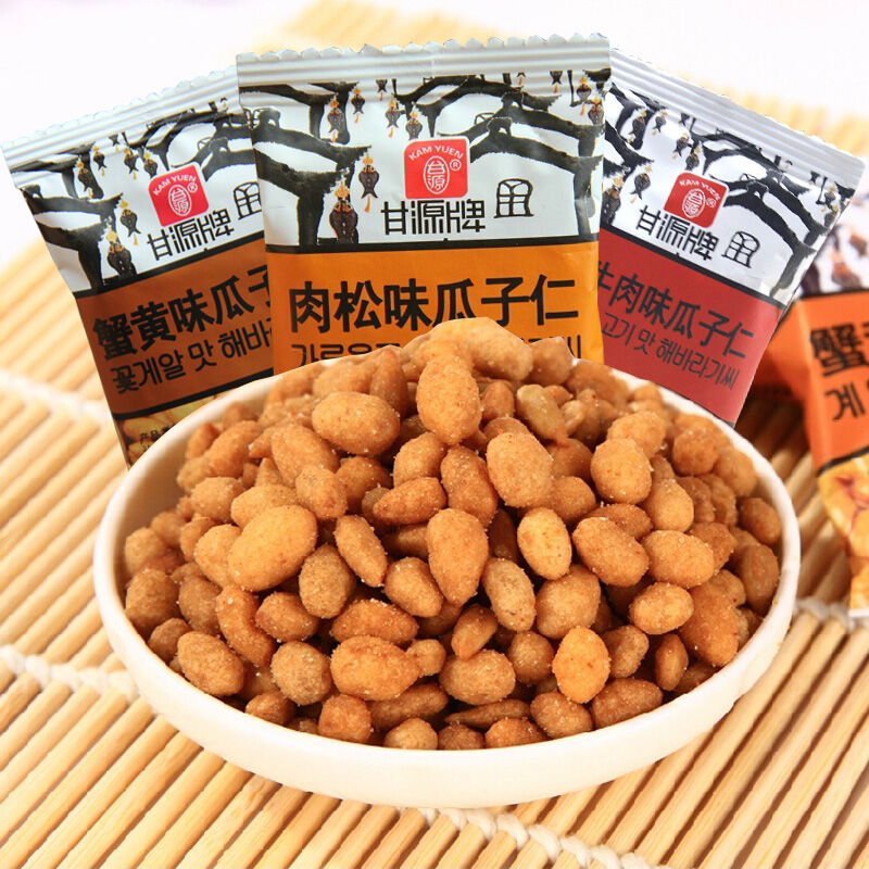 Gan source licensing crab flavor melon seeds g pound a variety of tastes delicious nuts casual snack new year