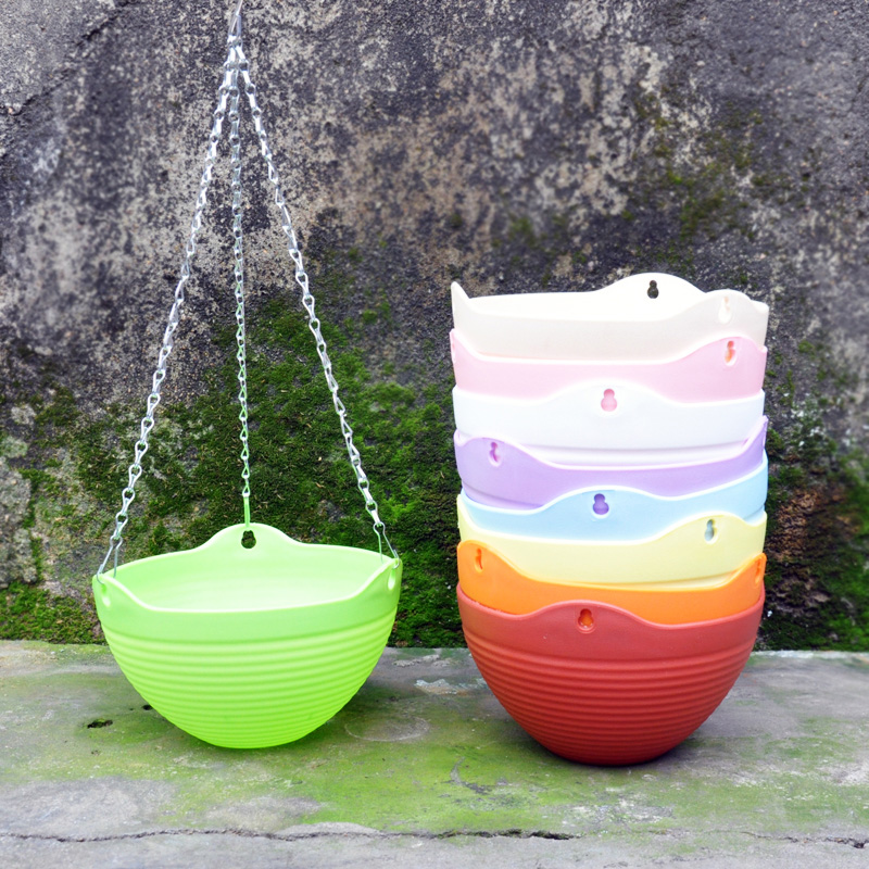 Gardening pots pots thickened resin plastic hanging pots diaopen spider hanging pots pots pots basket