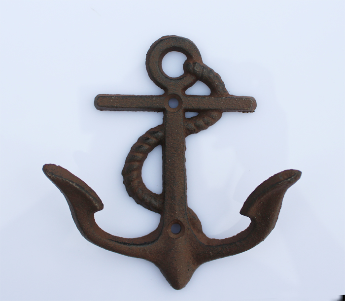 Ge jia rui erou vintage cast iron hooks wall mural coat hooks coat hooks anchor hook
