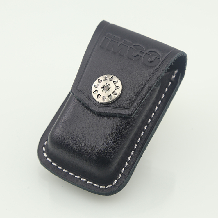 Genuine austria imco love cool lighters special holster leather holster lighter lighter package