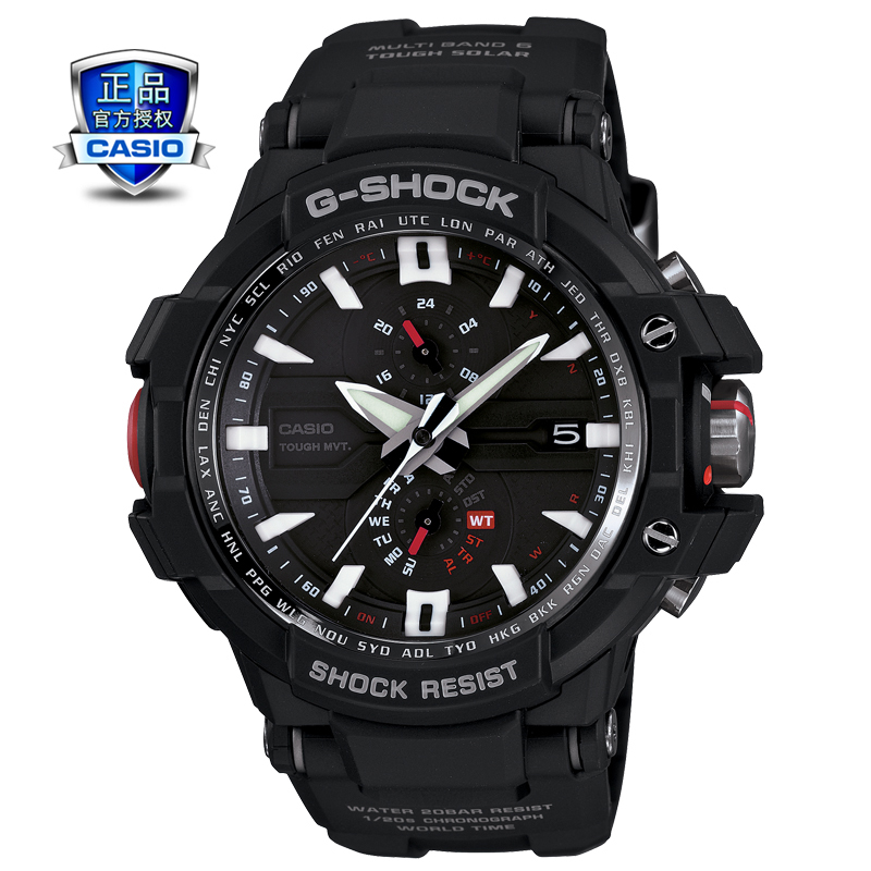 Genuine casio casio GW-A1000 multifunction quartz watch steel quartz watch male watch authentic watches
