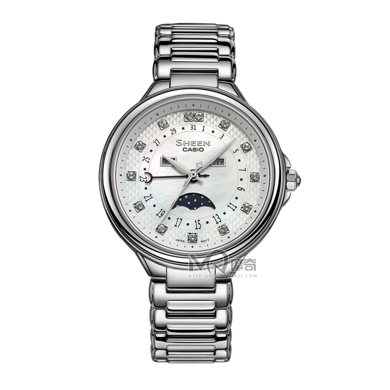 Genuine casio casio ladies watch fashion steel ladies watches trend of casual SHE-3044D-7A