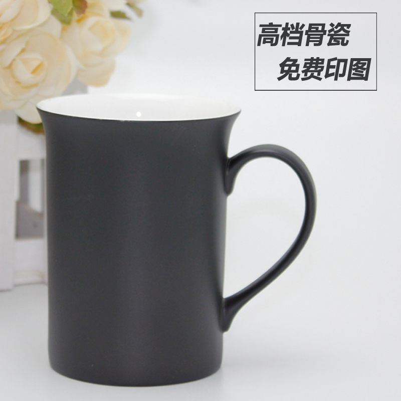 Genuine creative couple discoloration cup cute mug cup ceramic cup with lid bone china mugs suit
