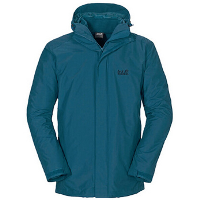 Genuine jack wolfskin/dewclaws male models fall and winter waterproof breathable triple jackets 1105741
