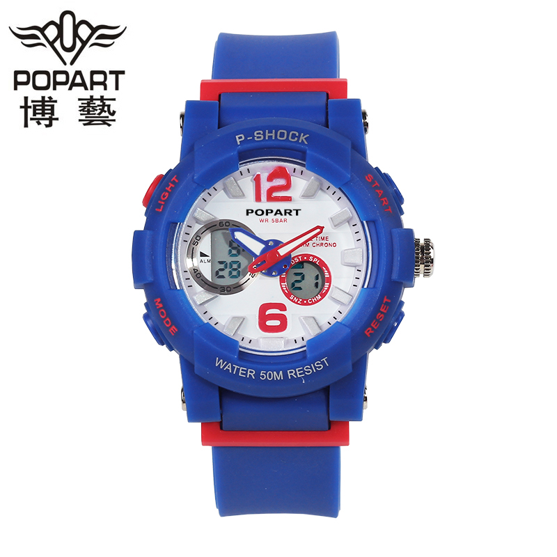 Genuine new boys and girls junior high school students electronic watch children watch boys and girls high school students watch