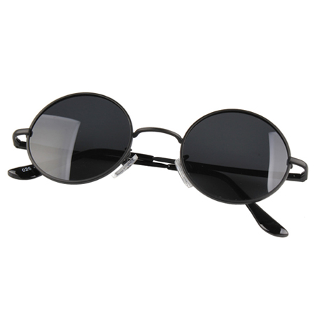 Genuine polarized sunglasses men sunglasses round sunglasses influx of men and women small round frame myopia retro round glasses prince mirror