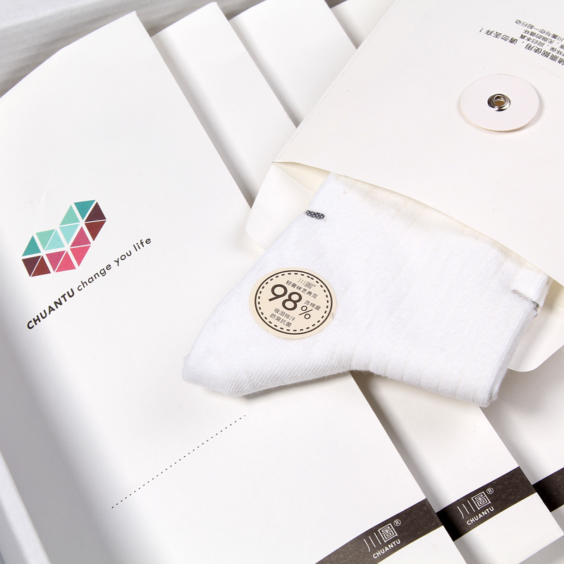 [Genuine] socks pure cotton socks men's cotton men cotton socks deodorant socks gift socks male spring and summer grade 98%