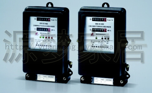 Genuine specified DSSX450 three-phase three lines of active and reactive power meter/meter/meter 3-6a