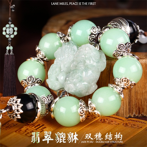 Genuine upscale car stalls rosary beads hanging ornaments car hanging gear lever dangba piece of sandalwood prayer beads prayer beads hanging car ornaments