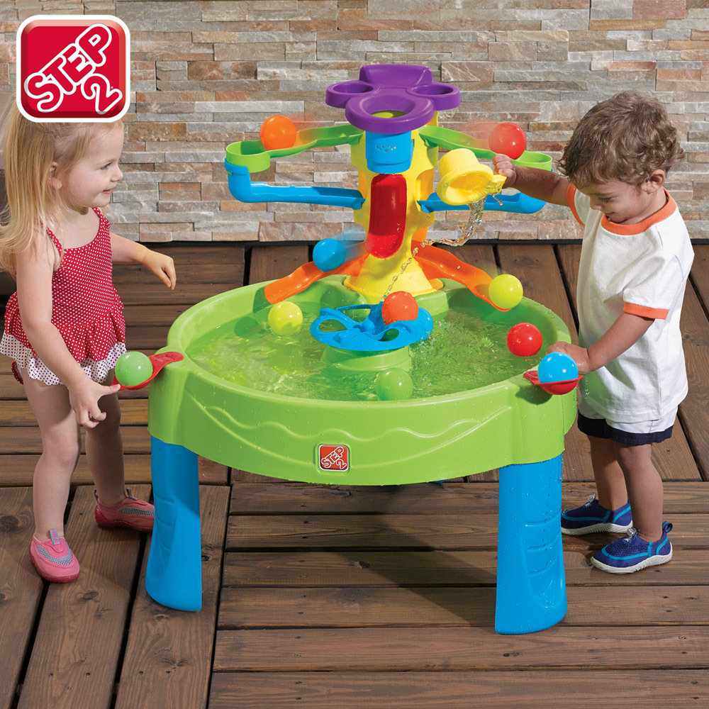 Genuine us step2 imported children's indoor play sand beach table water table water toys swimming table with a small ball