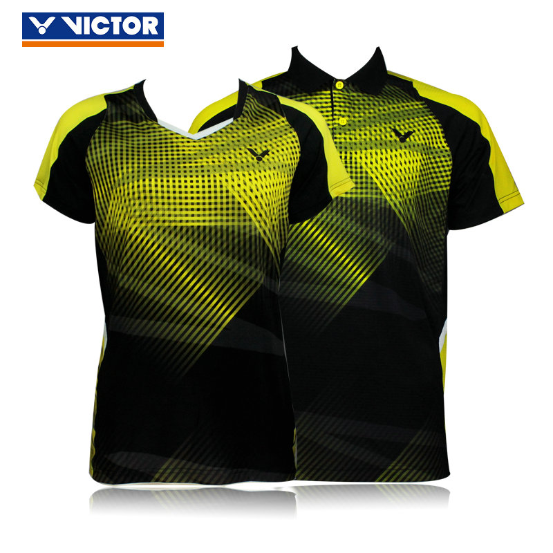 Genuine victory victor victor badminton competition clothing female models male models 6002 6102 6004 6104