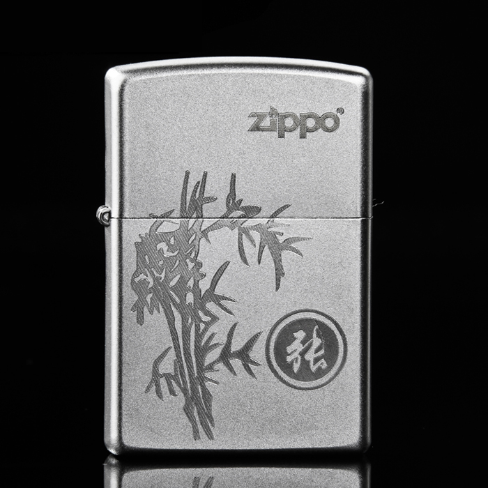 Genuine zippo windproof lighter 205 surnames bamboo genuine american original limited edition zppo zp