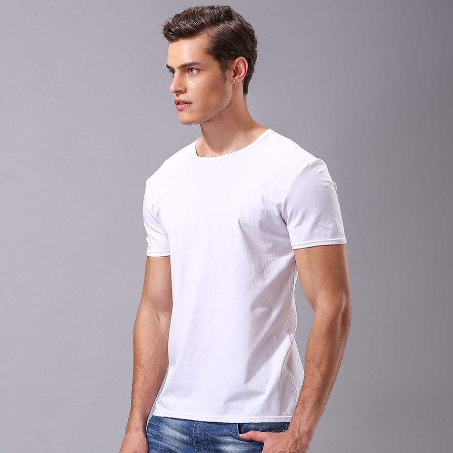 George benard/george bernard 2016 summer new men's short sleeve t-shirt round neck pure cotton t-shirt