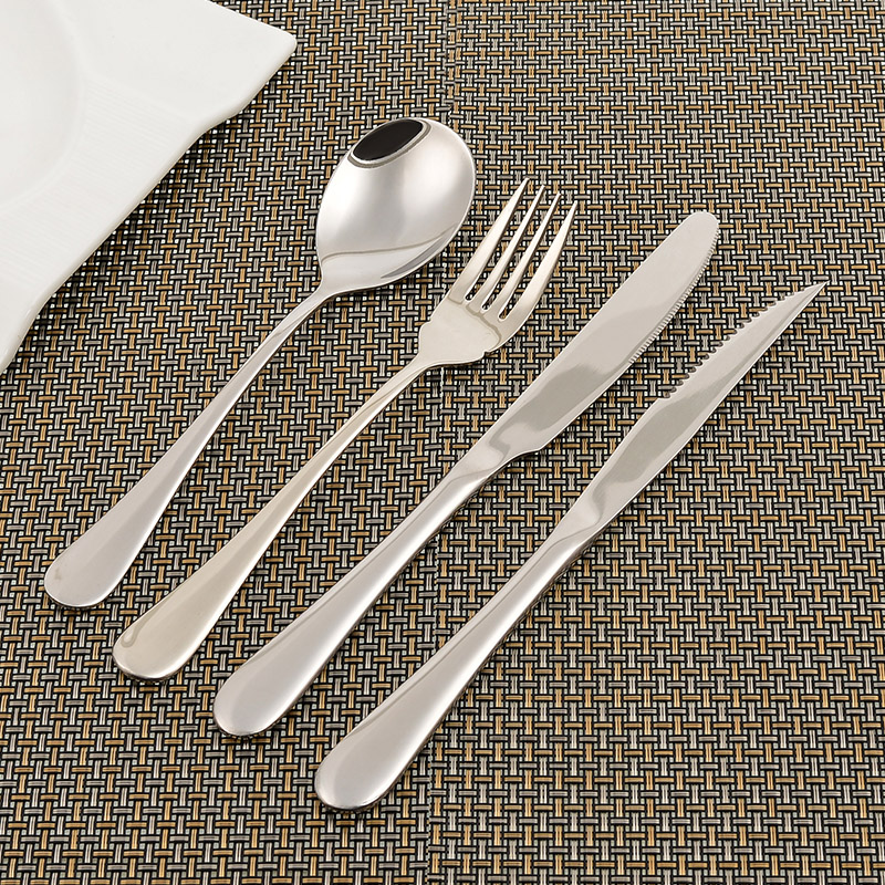 German exports of western knife and fork spoon three sets of steak knife and fork western piece cutlery western cutlery steak knife and fork spoon