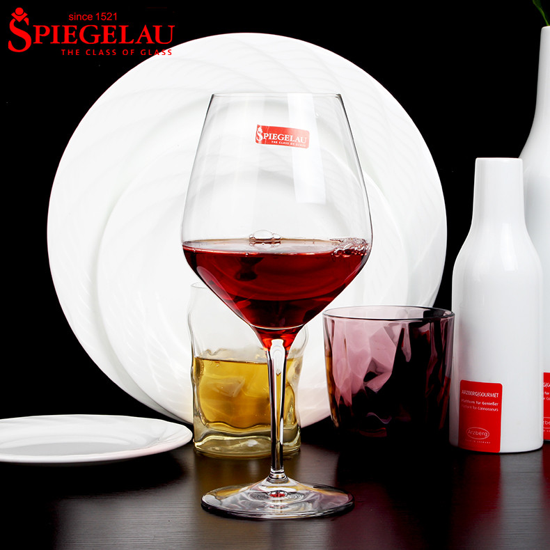 German imports spiegelau unleaded crystal large glass of red wine cup wine glass goblet specials
