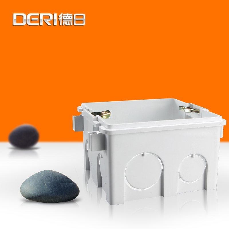 Germany and japan 86 cassette bottom box universal junction box switch socket cassette cassette bottom box bottom box wall switch socket junction box