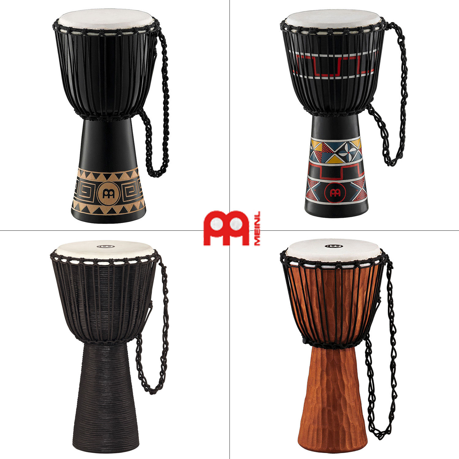 Germany imported meinl hdj maier djembe drum tambourine entire 12-inch wooden shipping to send a variety of 10!