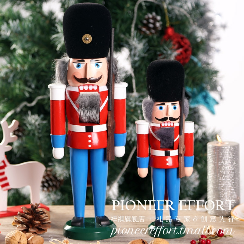 get quotations germany imported wooden nutcracker ornaments traditional christmas christmas decoration and gifts on new years eve