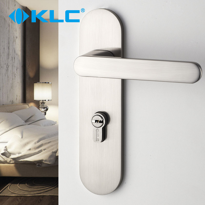 Get Quotations · Germany Klc Interior Door Locks Modern Minimalist  Stainless Steel Bathroom Lock The Doors Of The Bedroom