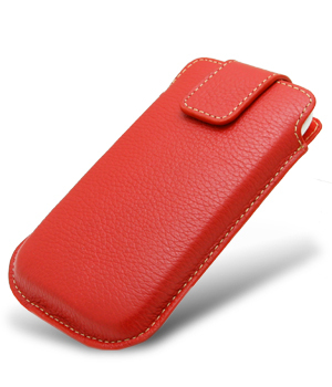 Germany melkco apple apple iphone 4 leather phone holster removable red acetogenins spot