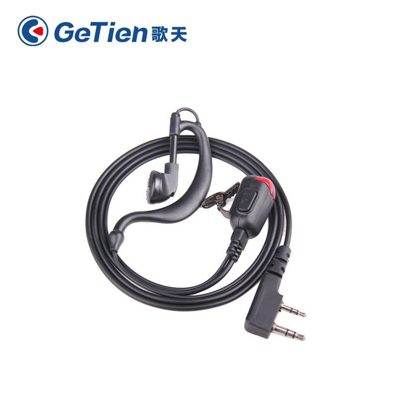 Getien/song days talkie headset (ear hook) ptt lighted pachytene talkie earphone headset