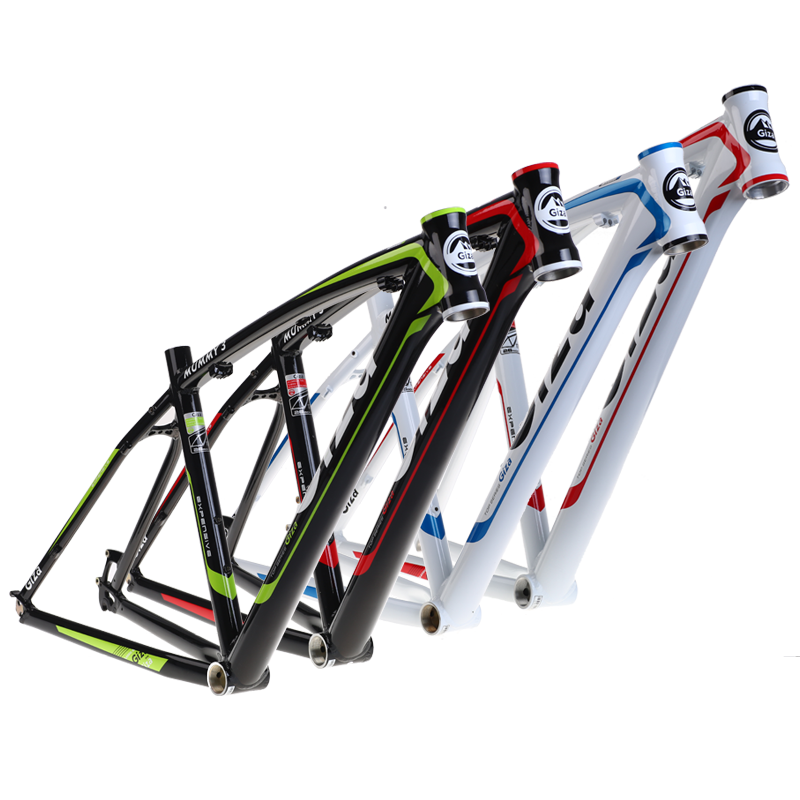 Giza mummy 3 lightweight cross country mountain bike frame 7005 hydraulic molding aluminum alloy bicycle frame