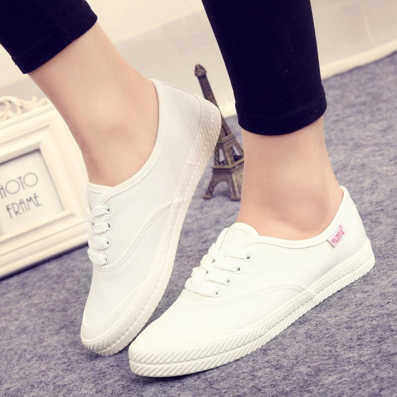 Buy Global new girls white shoes wild