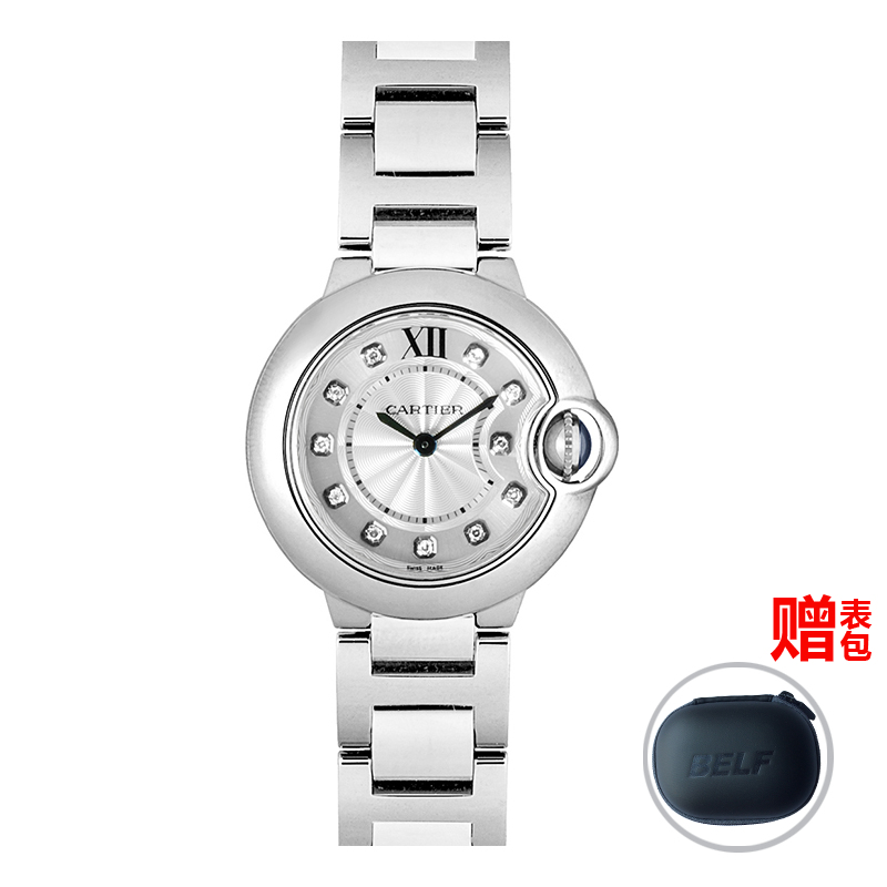 Global unpas cartier watches cartier blue balloon we902073 quartz female form