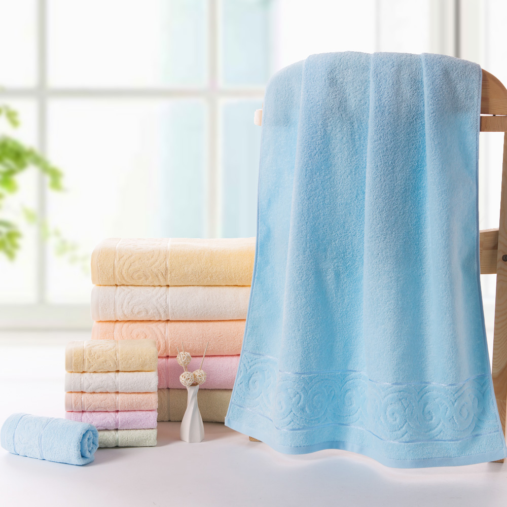 Gold no. 1 bath towel bath towel 2 cotton wool soft and comfortable terry towel cotton towel to mention satin simple and elegant