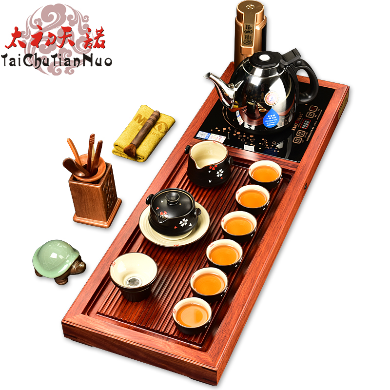 Gold stove tea tray r58 rosewood tea tray yixing tea entire kung fu tea set special offer